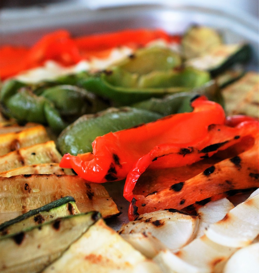 Grilled Champagne Balsamic Vegetables Recipe