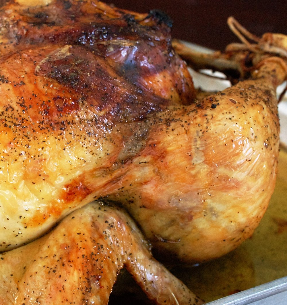 Lemon Herb Roasted Chicken Recipe