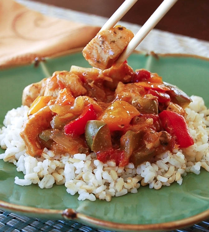 Peachy Sweet and Sour Chicken Recipe