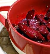 Rose's Roasted Champagne Beets Recipe