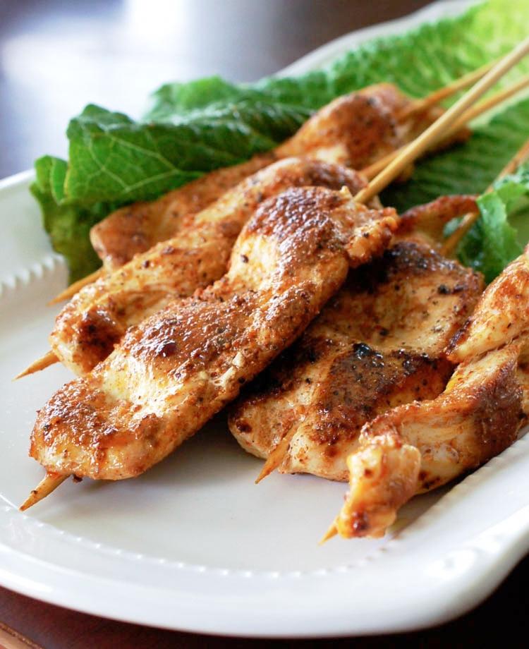 Sassy Chicken Skewers Recipe