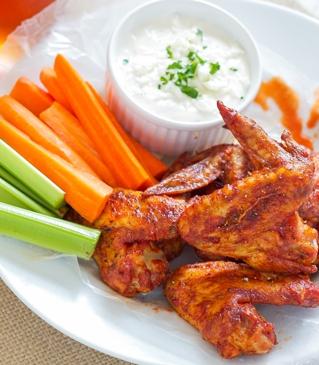 Sriracha Hot Wings Recipe