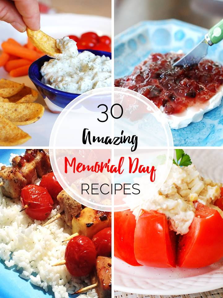 30 Amazing Memorial Day BBQ Recipes