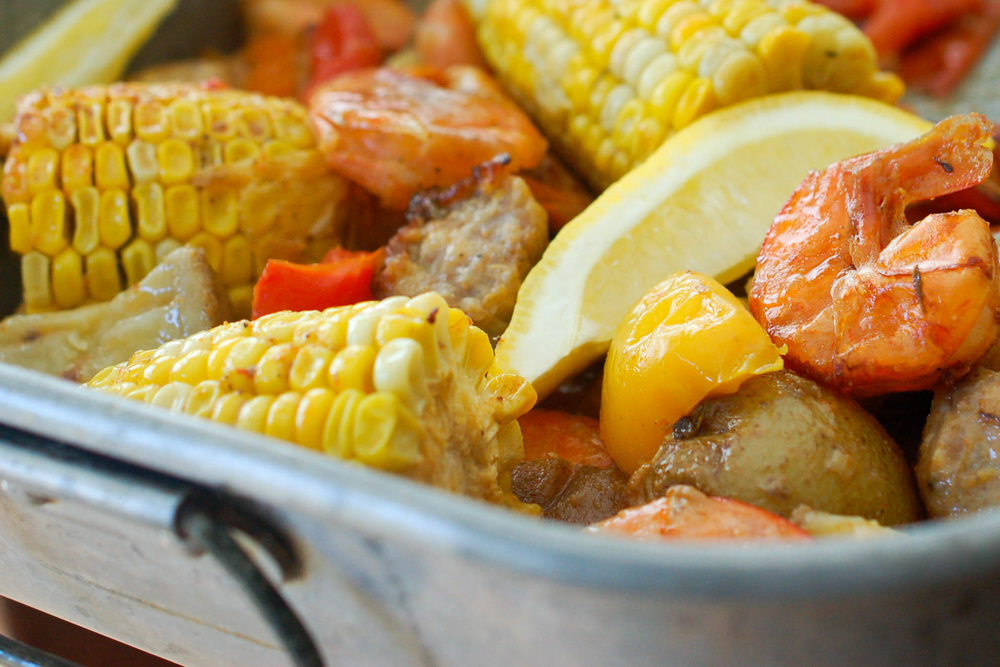 Baked Cajun Shrimp Boil Recipe