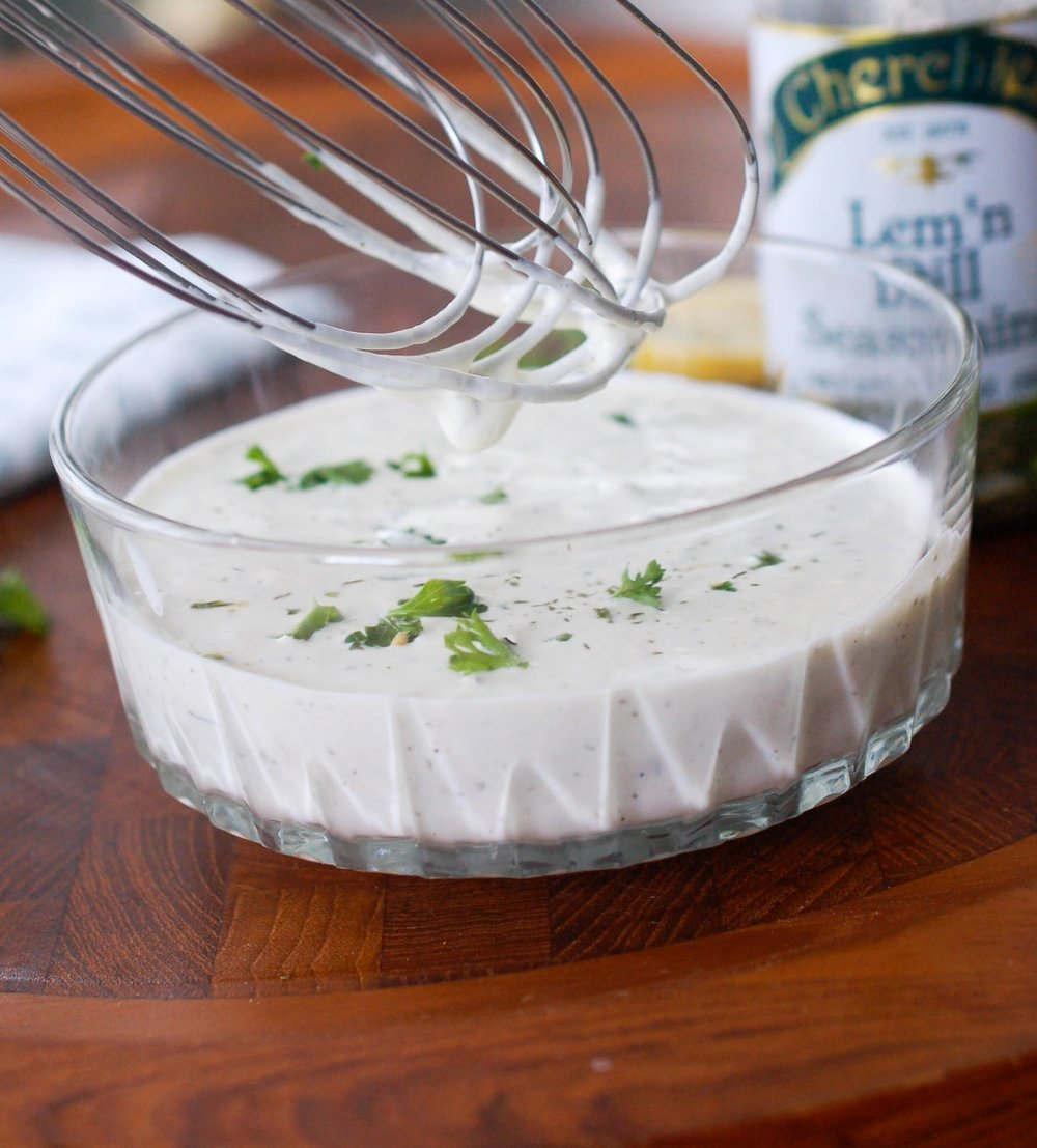 Best Darn Homemade Ranch Dressing Recipe