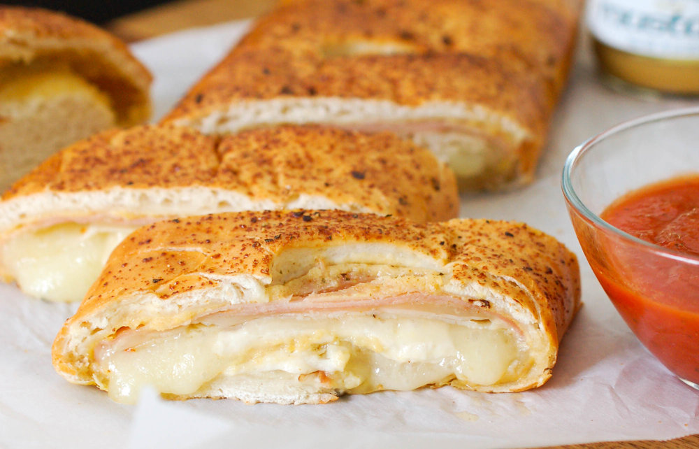 Ham, Turkey, and Cheese Stromboli Recipe