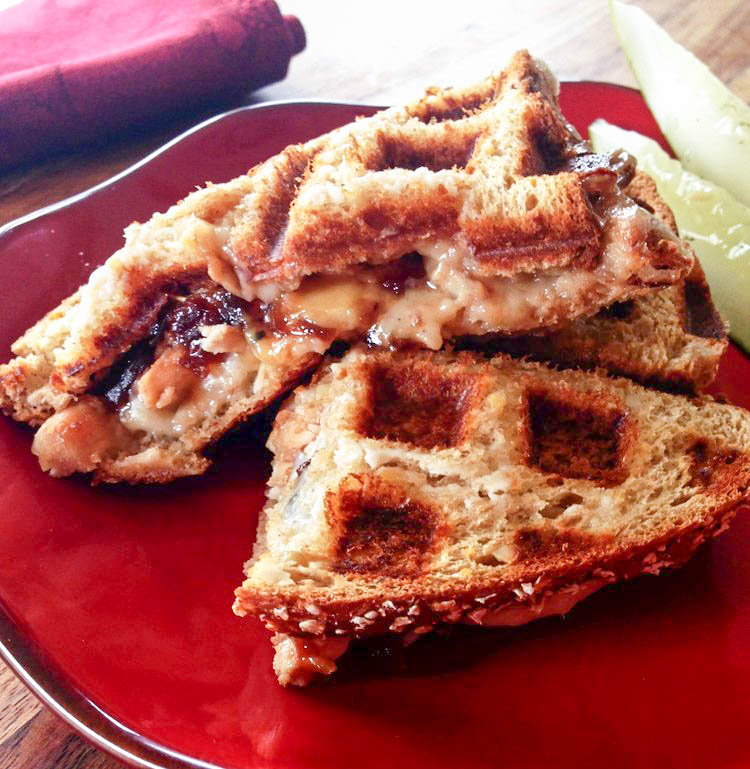 Turkey and Cheese Waffle Panini Recipe