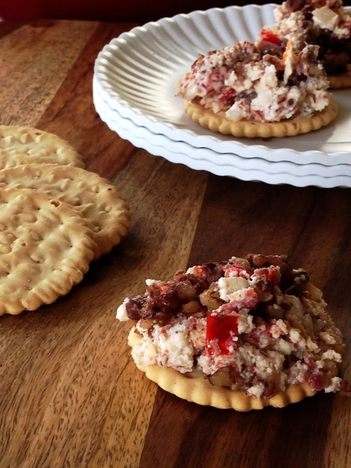 Hot Pecan Spread Recipe