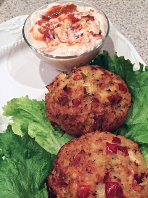 Pretty Crab Cakes Recipe