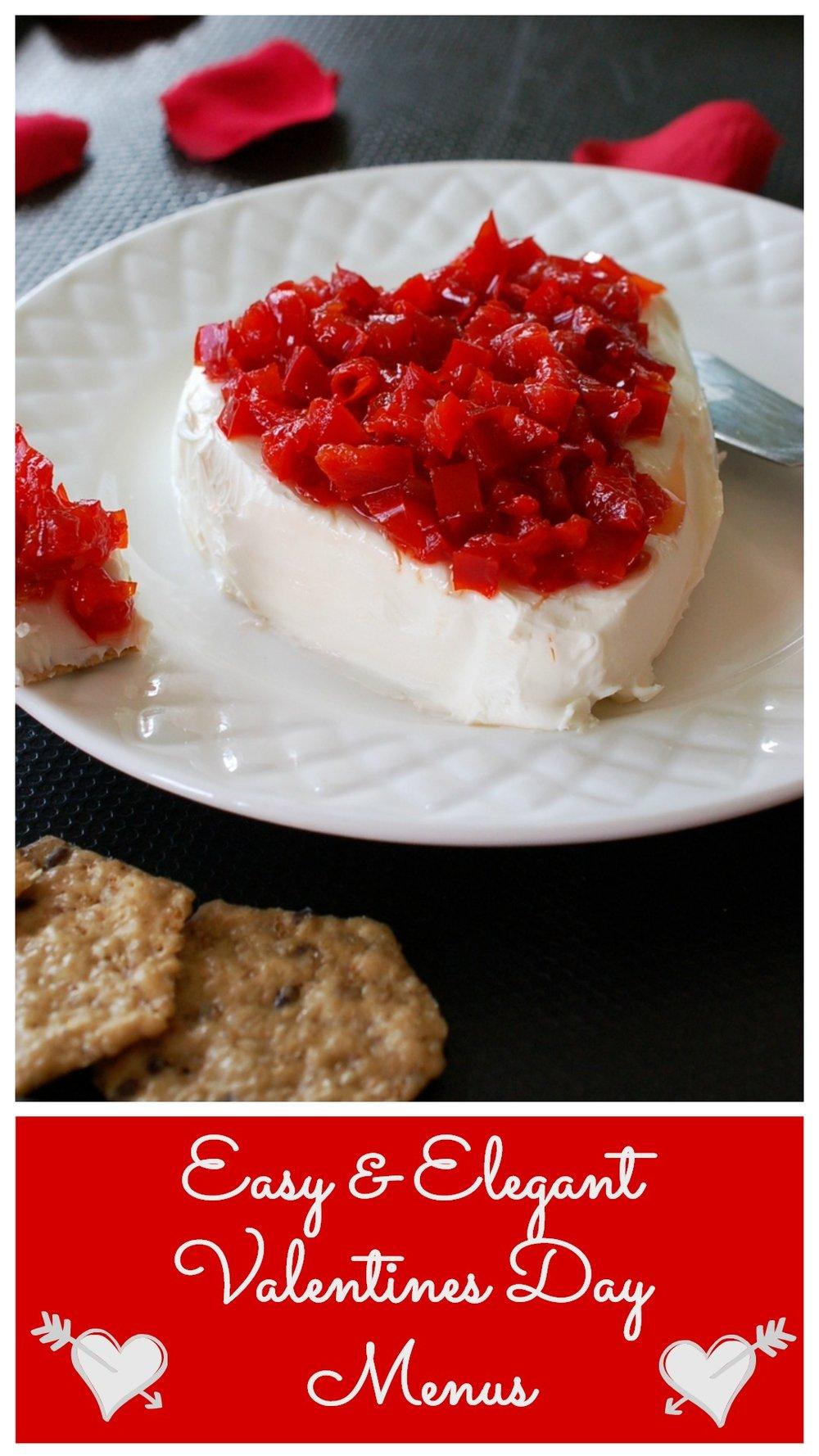 Recipe Roundup- Easy & Elegant Valentines Day Menus