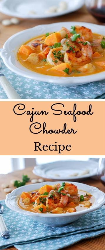 Cajun Seafood Chowder Recipe