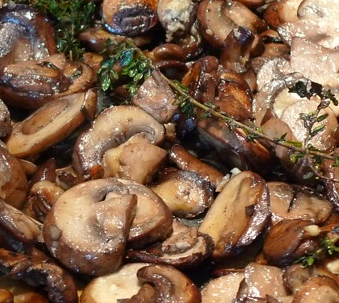 Champagne Mushrooms Recipe