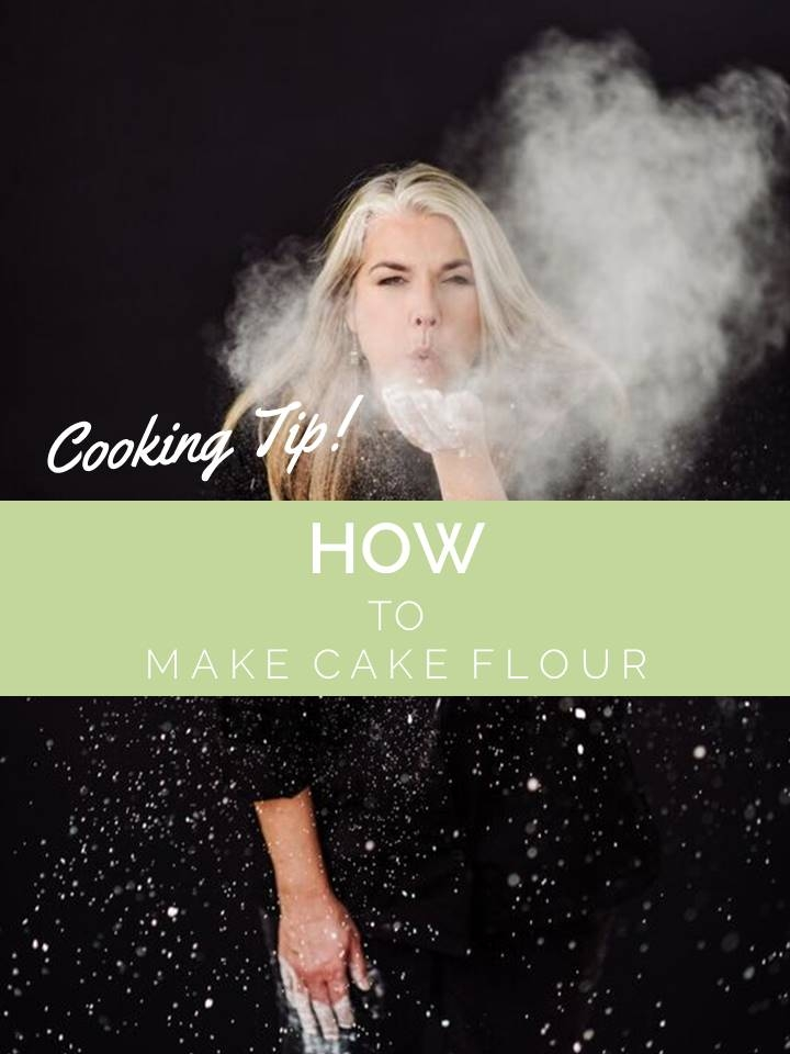 Cooking Tip: How to Make Cake Flour*