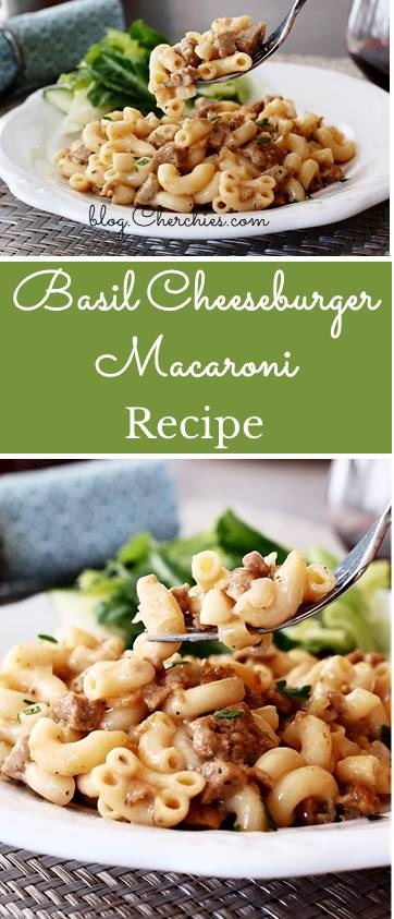 Basil Cheeseburger Macaroni Recipe