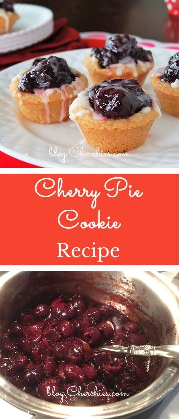 Cherry Pie Cookie Cups Recipe