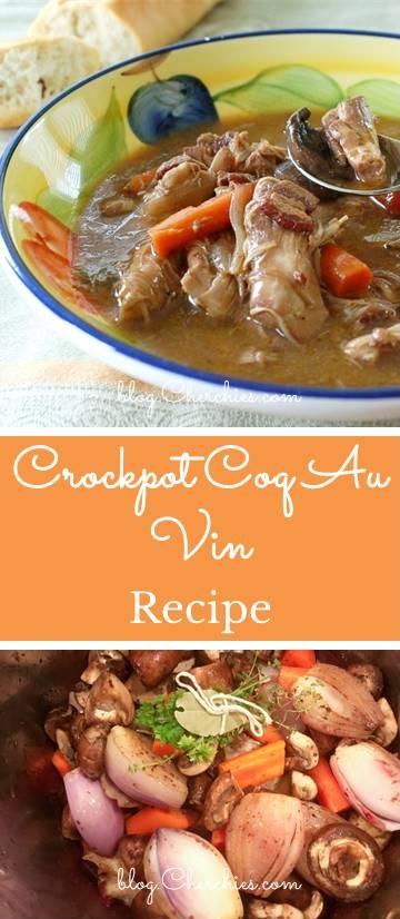 Crockpot Coq Au Vin Recipe
