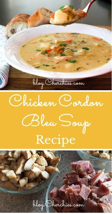 Chicken Cordon Bleu Soup Recipe