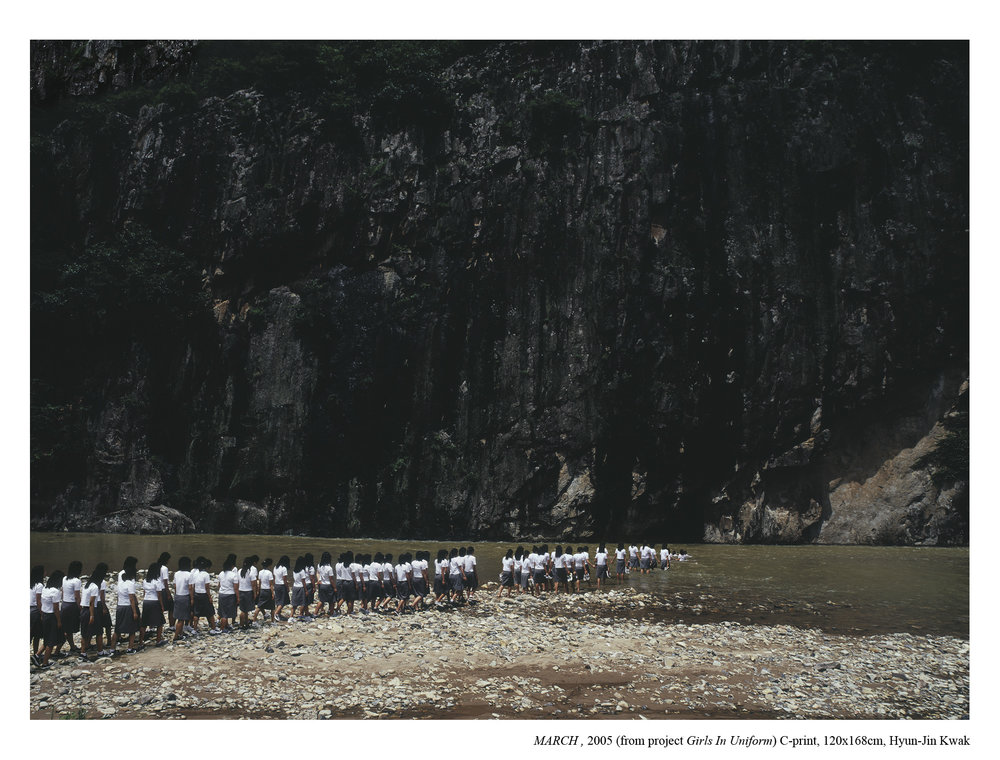 Hyun-Jin Kwak, MARCH, 2005, 120x168cm C- print