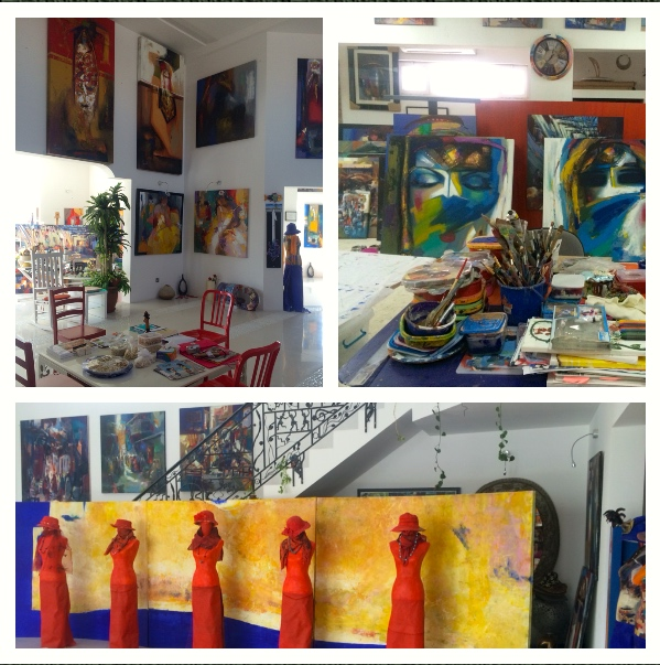 Gallery and studio of Abbas Almosawi Al Qurayyah gallery@abbasalmosawi.info