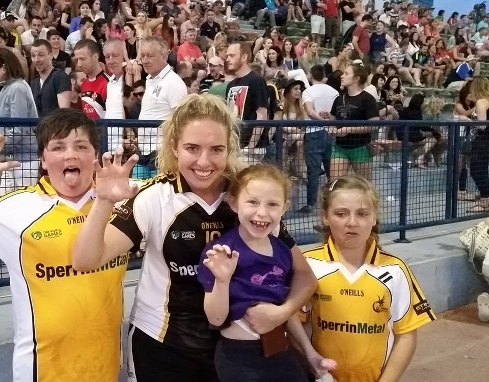 Óir Middle East Star with Olwen, Sophie and Ben    — with Aisling Kinsella . Arabian Celts (Bahrain)