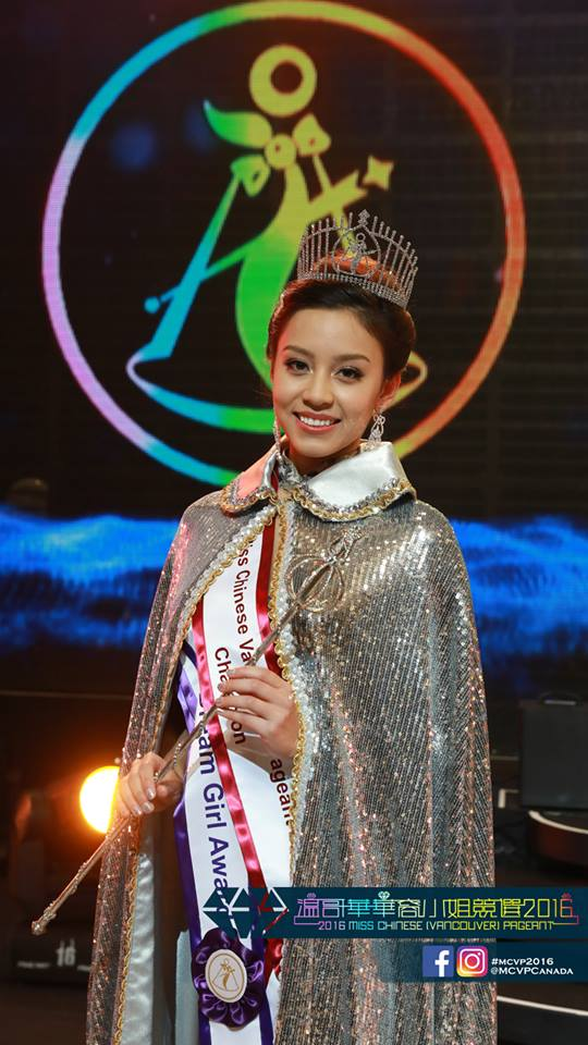 Maria Rincon 王思思 Crowned as Miss Chinese Vancouver