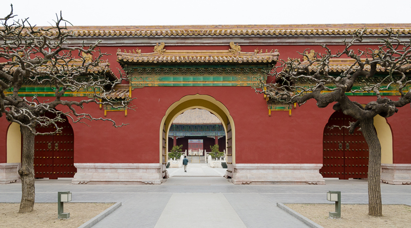 One of many gates inside the Forbidden City. © jwamsterdam.com