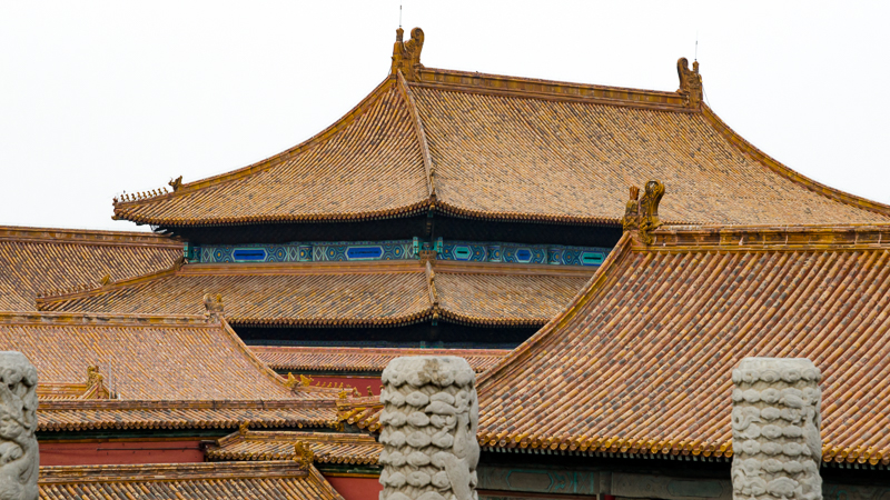 Rooftops inside the Forbidden City. © jwamsterdam.com