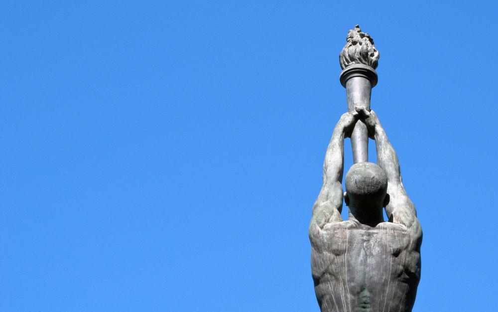 Olympic park Barcelona -