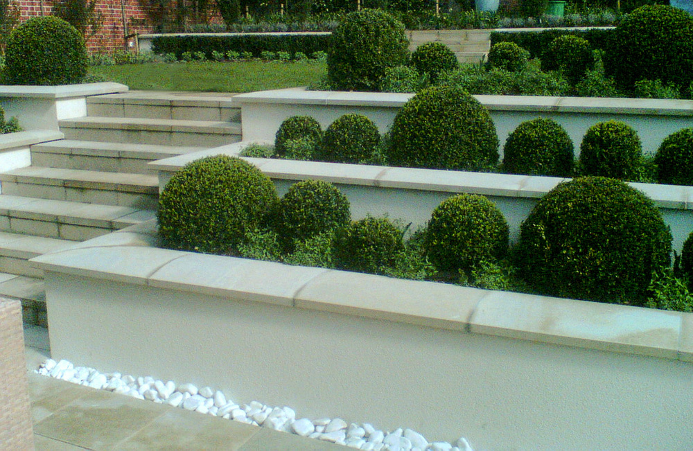 Garden design ideas get inspired by photos of gardens from for Hard landscaping ideas