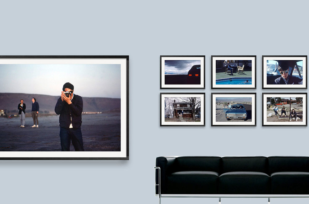 "Composing Homescreen Webshop, Galerie""Nevada"""