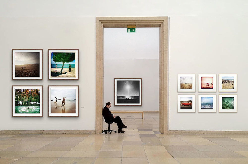 Composing Homescreen Webshop, Galerie Life's a Beach