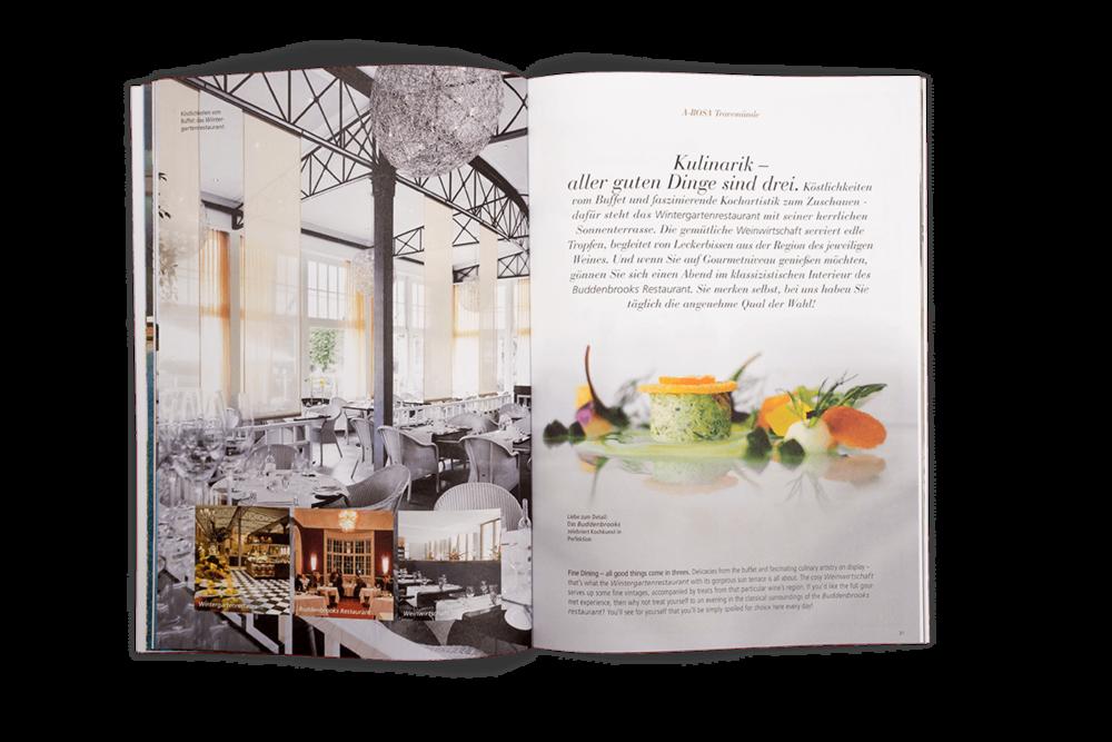 A'ROSA Hotels Travemünde Kulinarik