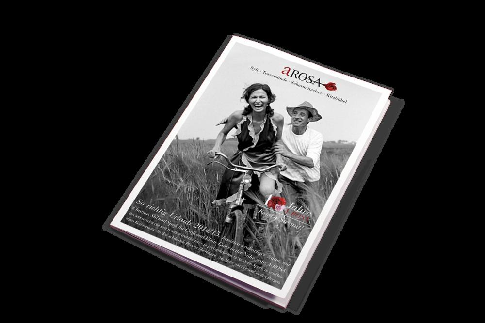 A'ROSA Hotels Katalog 2014 Titel