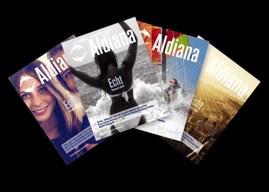 Aldiana Kataloge Echt Sommer 2016