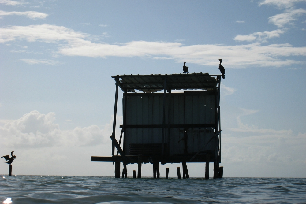 Fisherman's hut · Caye Caulker 2007