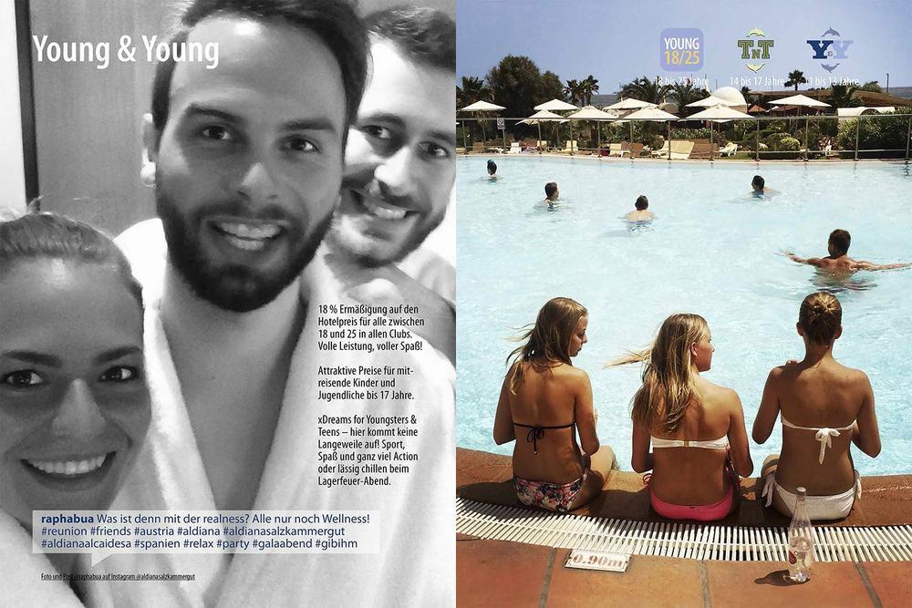 Young Echt Aldiana Katalog Sommer 2016 Instagram