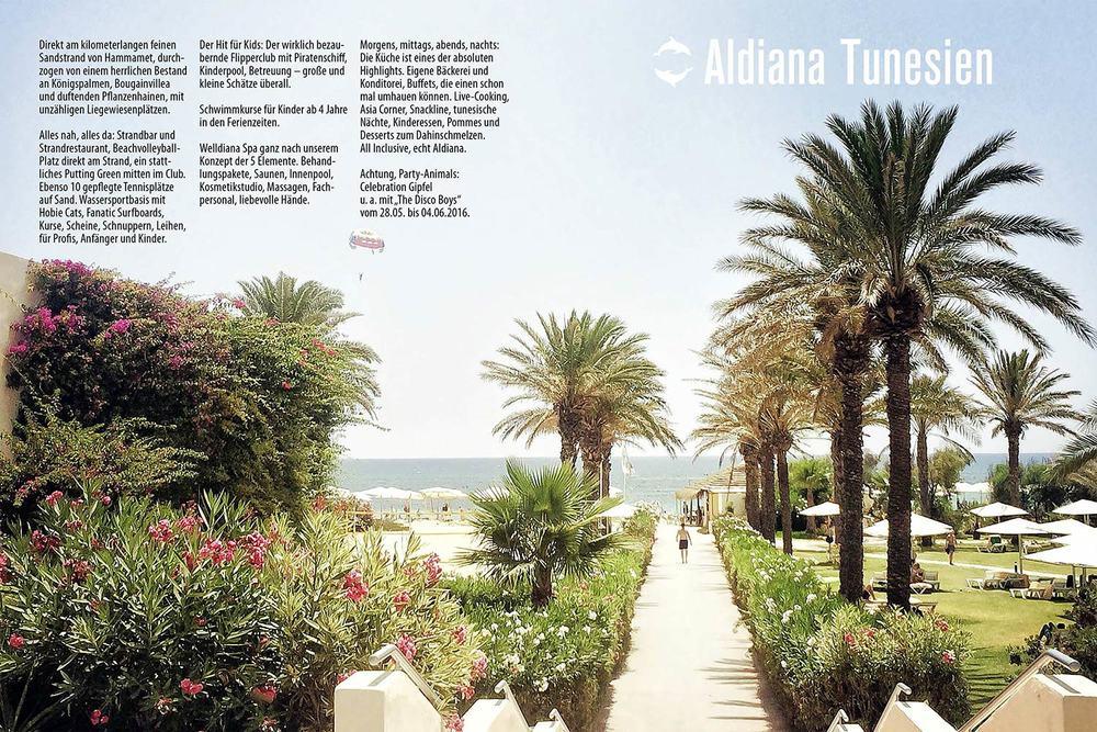 Tunesien Echt Aldiana Katalog Sommer 2016 Instagram
