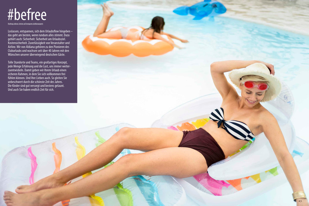 Aldiana Katalog Sommer 2017 Markensäule Freiheit Sicherheit