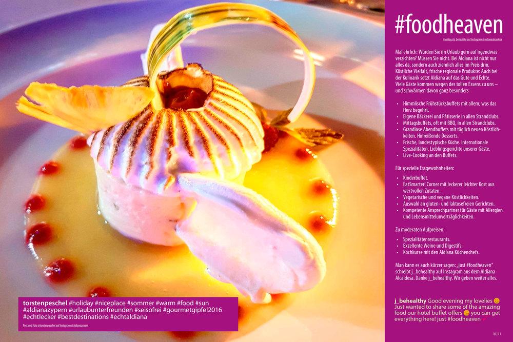 Aldiana Katalog Sommer 2017 Markensäule Kulinarik