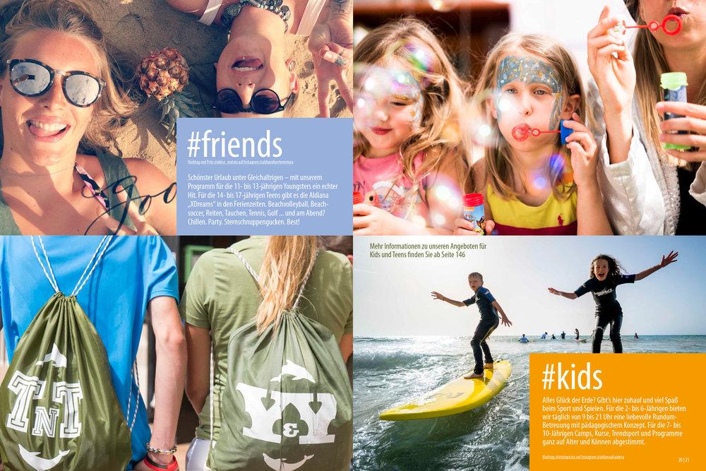 Aldiana Katalog Sommer 2017 Markensäule Kids
