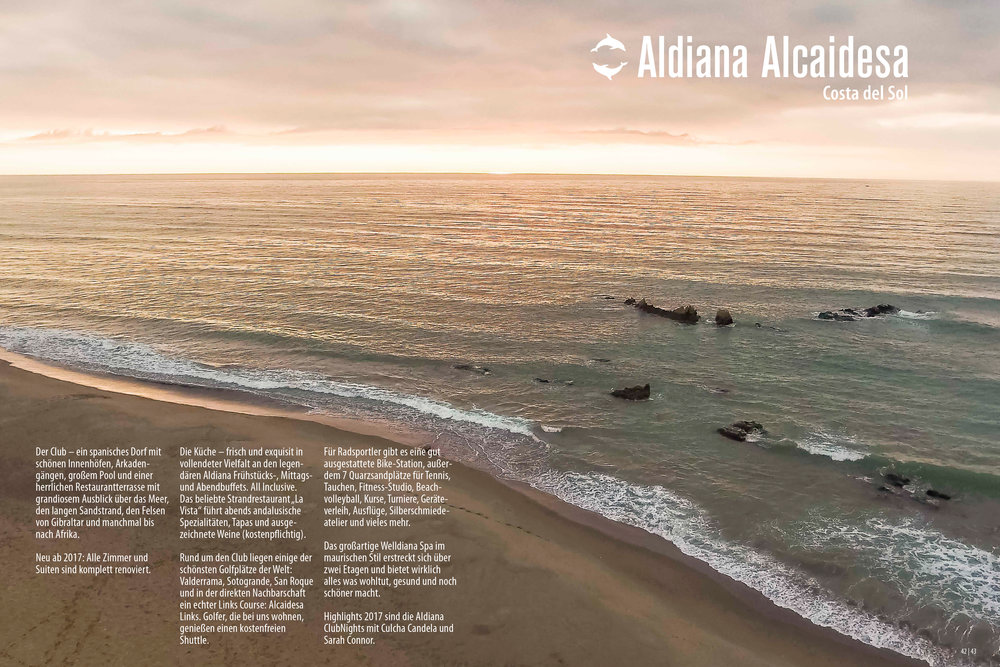 Aldiana Katalog Sommer 2017 Club Alcaidesa