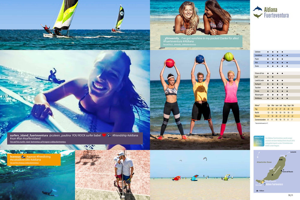 Aldiana Katalog Sommer 2017 Club Fuerteventura Lifestyle