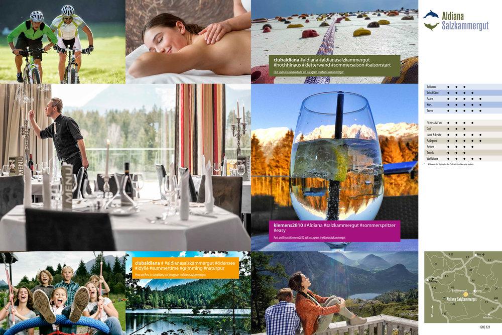 Aldiana Katalog Sommer 2017 Club Salzkammergut Lifestyle