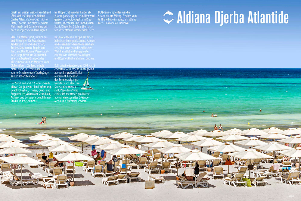 Aldiana Katalog Sommer 2017 Club Djerba Atlantide