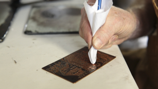 LEARN HOW THE PRINTS ARE MADE -