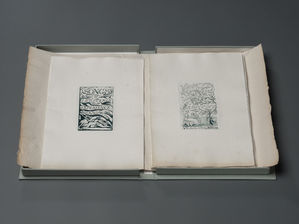 Print set of the Songs of Innocence and of Experience by William Blake printed by Michael Phillips.jpg