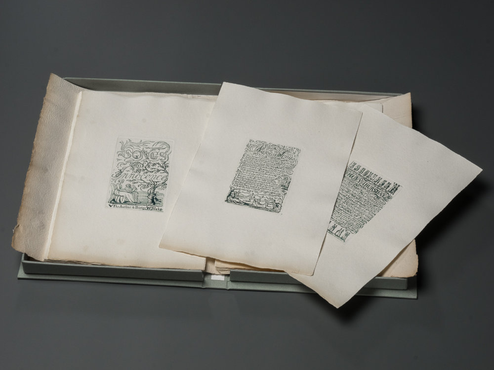 Songs of Innocence and of Experience by William Blake print set by Michael Phillips.jpg