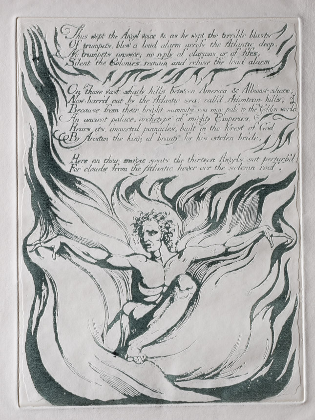 """Copy of Plate 12 """"Thus wept the Angel"""""""