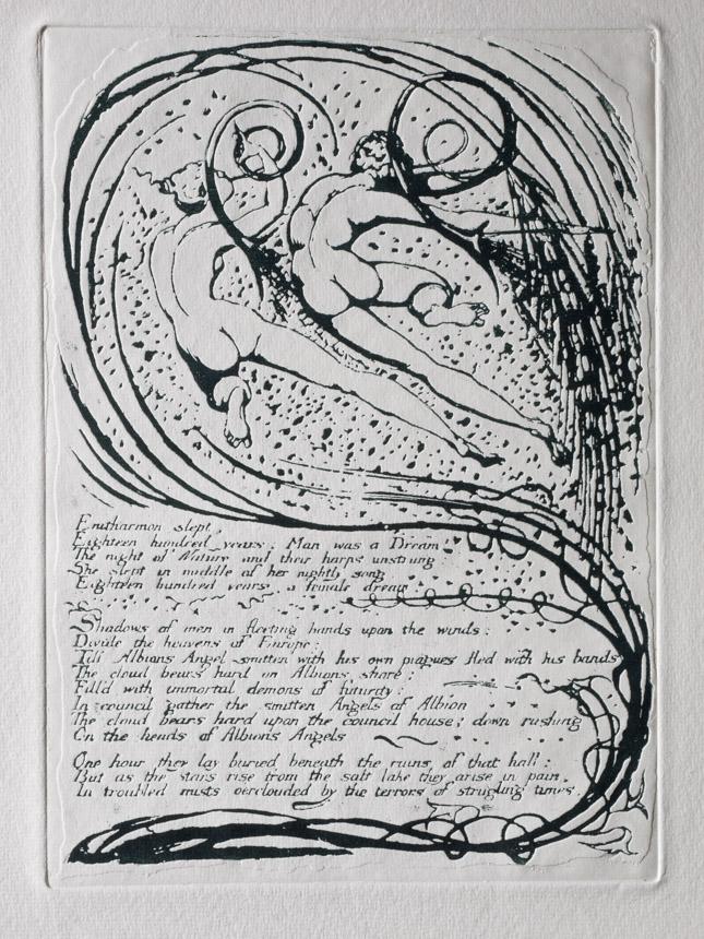 Plate 10, Europe, 'Enitharmon sleot'