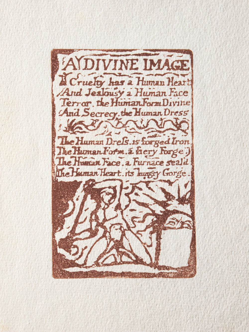 Copy of A Divine Image printed in red ink